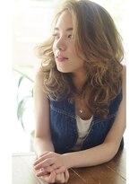 【RIMA】 外国人風☆Ashベージュとカジュアルなくせ毛風パーマ