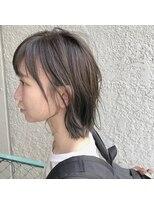 アルマヘアー(Alma hair by murasaki)アッシュグレーのボブディ