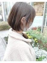 モッズヘア 仙台PARCO店(mod's hair)【奥山】◆柔らかボブスタイル◆
