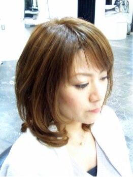 ヘアーキャッスルソントン(hair castle SONTON)の写真/【武蔵小杉】親身なカウンセリングと絶妙なカットで女性の「可憐さ」を引き出すのが<<SONTON>>の役目です。
