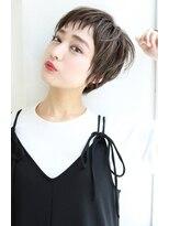 【Rose/茨木】アシメショート_エアリーショート_斜めバング