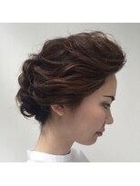 アオタニ ヘア 東向日店(aotani hair)アレンジスタイル