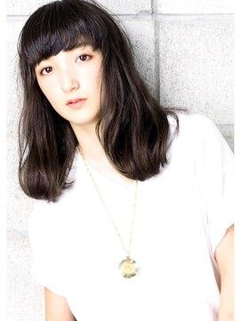 ヘアサロン ガリカ 表参道(hair salon Gallica)『 ブラックグレージュ × 毛束感 』 クールミディアム☆