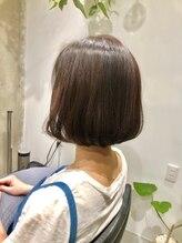 ハナワ エビス トウキョウ ヘアーサロン(HanaWa ebisu tokyo hair salon)ナチュラルボブ〈Hanawa 恵比寿〉