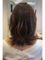 ヘアーリゾートラシックアールプラス(hair resort lachiq R+)《R+》ミディアム☆モーブピンク☆ソフトバレイヤージュ