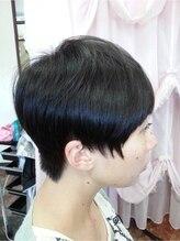 ヘアー ジュンジュン(hair Junjun)美シルエット♪ショートで爽やかスタイル