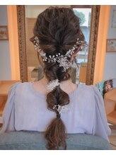 ヘアーアンドコークラシコ(Hair&Co. Clasico)ダウンスタイル