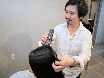 エヌフラクタル(Nfractal)の写真/ひとりひとりの頭皮の状況に合わせた『オーダーメイドヘッドスパ』で健やかな頭皮を手に入れてみませんか?