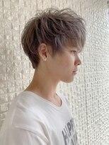 ザ サードヘアー 津田沼(THE 3rd HAIR)ハイトーン王道マッシュ