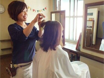 ヘアーガーデンニコモカ(Hair Garden NICOMOCA)の写真