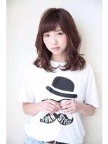 ハピネス 西大寺店(Happiness)【秋野睦実】大人可愛いナチュラルボルドーカラー