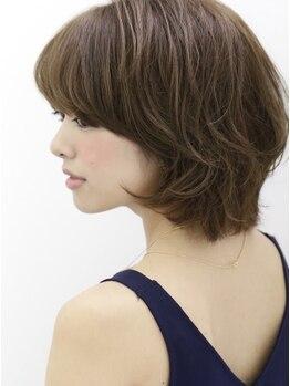 ヘアエジェリプリム (hair&spa egerie prime)の写真/【ルビオナカラー】エイジングケアしながら白髪染め♪繰り返すカラーも保湿成分配合で頭皮乾燥を防ぎます◎