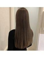 ヘアーサロン リアン 熊谷2号店(hair salon Rien)大人気!ケラスターゼ×ミルクティーベージュ♪