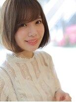 アグ ヘアー ドレス 喜久田店(Agu hair dress)シースルー&斜めバングで美バランスヘア
