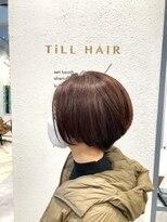 ティルヘアー(TiLL HAIR)多毛・癖毛 N.オイル×ショートボブ