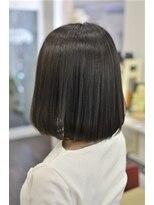ヘアーデザイン キャンパス(hair design Campus)【キラめきうるつや髪☆】濃厚シュエットグレージュ♪