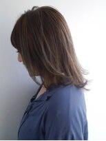 ヘアメイク オブジェ(hair make objet)涼しげ夏髮レイヤースタイル