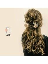 ヘアーメイクアンドネイル エフプラス(hairmake&nail F PLUS)【F PLUS!-エフプラス-】ハーフアップ