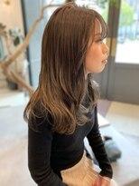 ヘアーアイスカルテット(HAIR ICI QUARTET)ベージュ × レイヤード
