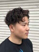 大阪チャンピオンの店 ヘアサロンスタイル(Hair Salon Style)リッジパーマ