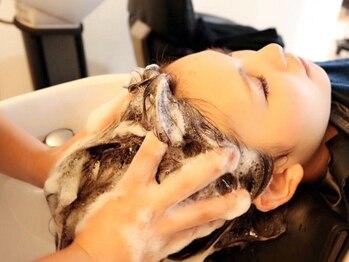 フェリーチェ(felice)の写真/話題の夢シャンプー導入サロン☆個室でリラックスしながら、本格的な極上スパを是非ご体験下さい♪