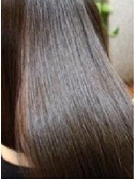 アスパイア(ASPIRE)の写真/【岡山イオンすぐ】トリートメントでくせ毛が伸びる?!新感覚[ストレートメント]導入!