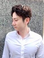 ヘアーアンドメイク エイダ(hair&make eida)メンズアッシュパーマスパショート20代30代