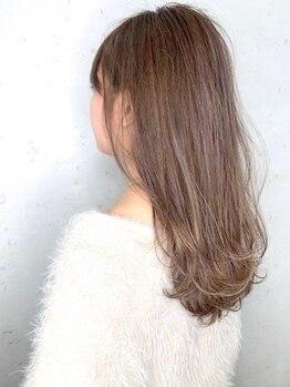 フレアクレム(FLEAR cre:me)の写真/[ダメージレスカラー+カット+トリートメント¥12155]ダメージをゼロに近づける驚異のダメージレスカラー☆