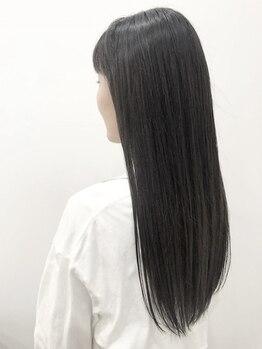 ヘアーデザイン ハピネス(hair design Happiness)の写真/駅1分☆【縮毛矯正+トリートメント+カット+スチーム¥9900】ダメージレスで自然な仕上がりをお手頃価格で◎