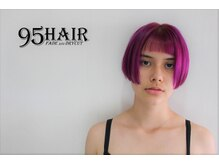 ナインティーファイブヘアー(95 HAIR NINETY FIVE HAIR)の雰囲気(一人一人の個性をいかしたヘアスタイルはお任せください)