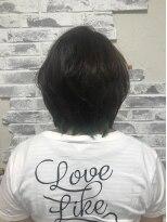 ポッシュ 原宿店(HAIR&MAKE POSH)インナーカラー(緑)