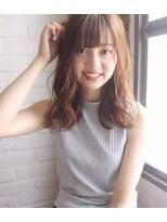 チョビー 銀座(chobii)道村/グレージュ/デジタルパーマ/イルミナカラー /ブランジュ
