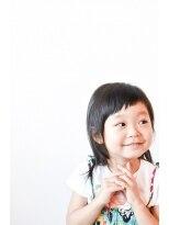 ヘアデザイン ロッコ(hair design ROCCO)-KIDS- *ショートななめバング