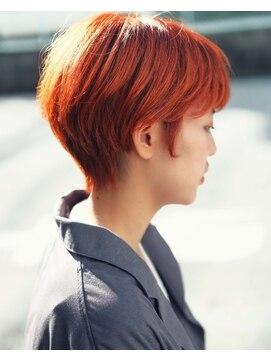 ニコヘアー(niko hair)秋におススメ★カッパーオレンジ▼LINEID@vey3047y