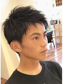 高校生メンズショート L005703415 レガロヘア Regalo Hair のヘア