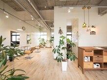 ヘアスタジオ ノーム(HAIR STUDIO NOME)の雰囲気(白を基調とした清潔感のある店内は、天井が高く開放感も◎)