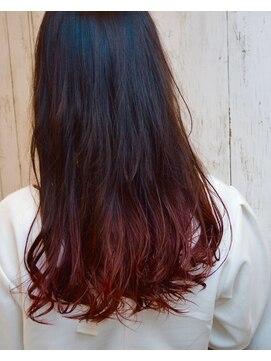ピンク 赤系グラデーションカラー L005715056 オプトゥニール