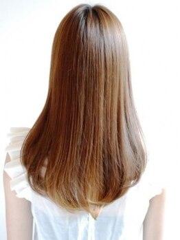 ニコ(nico)の写真/クセ毛やうねり、パサつく毛先にお悩みの方必見!サラサラストレートヘアは【nico】にお任せ♪