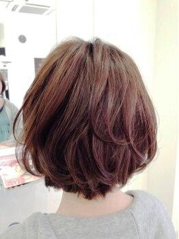 リラシー ヘアーアンドビューティー 龍ケ崎店(RELASY hair&beauty)の写真/再現力のある似合わせカットで自分らしく、似合う髪型に…♪乾かすだけでまとまるから忙しいママやOLにも◎