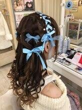 ヘアメイク シンティア(Hair make Cintia.)レース編み