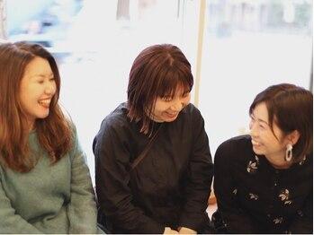 スミカ(sumika)の写真/ママさんスタイリスト在籍★同性だからこそデリケートなお悩みも相談でき、女性目線での提案がうれしい!!