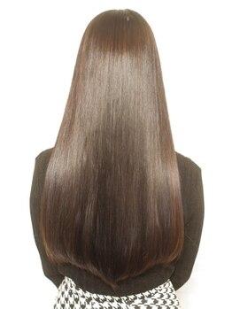 モードケイズ JR茨木improve店(MODE K's)の写真/圧倒的ツヤ感!次世代の縮毛矯正リバイバルストレートで髪質改善♪ハイダメージにも対応