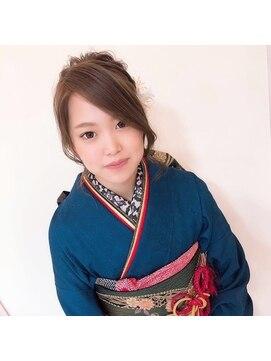 ミミ ヘアーサロン(Mimi)成人式スタイル
