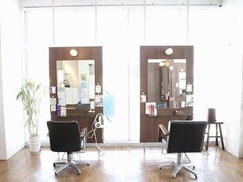 エスアンドエフ美容室 松富店(S&F)の写真/スタッフとお客様の笑顔が絶えない《S&F》★cafeの様な感覚でフラッと寄りたくなるアットホームさが好評♪
