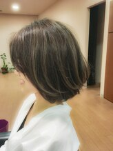 モッズヘア 高崎店(mod's hair)【mod's hair高崎】グレージュ&ハイライトstyle