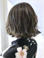 チクロヘアー(Ticro hair)コントラストハイライト