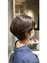 ディオ 麻布十番店(Dio)丸みショートヘアスタイル/くびれショートヘアスタイル