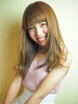 ヘアー グランジ プラス(hair Glunge Plus)小嶋陽菜ふうセミロングヘア