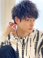 《Agu hair》ソフトツーブロッククセ毛風ツイストパーマ