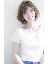 bifino松尾昇路★ミセスにお勧め前上がりリラクシーボブスタイル